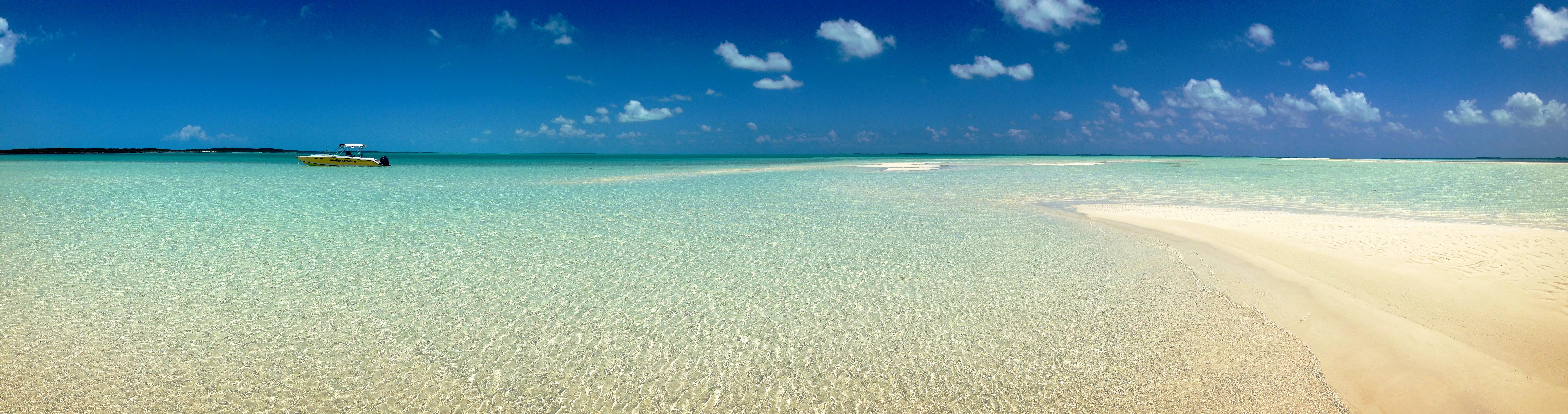 L ile d exuma aux bahamas plages de r ve iguanes et baignade avec les cocho - Image d ile paradisiaque ...
