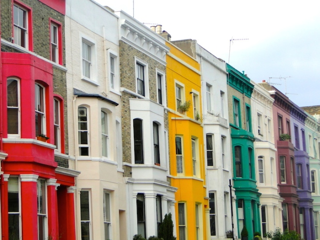 colourful london